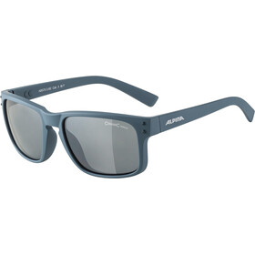 Alpina Kosmic Okulary rowerowe, dirt blue matt/black mirror